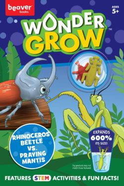 Rhinoceros Beetle versus Praying Mantis