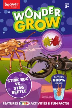 Stink Bug versus Stag Beetle